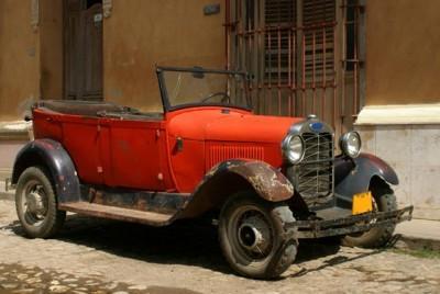 Παλιό αυτοκίνητο στην Τρινιδάδ