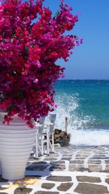 Θέα από Ελληνικό νησί, Ελλάδα, Image Gallery