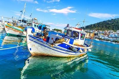 Αλιευτικά σκάφη, Ελλάδα, Ταπετσαρίες Τοίχου