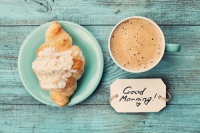 Coffee mug with croissant, Φαγητό, Image Gallery
