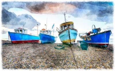Αλιευτικά σκάφη