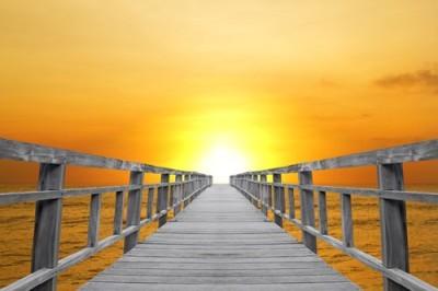 Ξύλινη γέφυρα, Φύση, Ταπετσαρίες Τοίχου