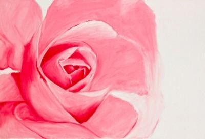 Τριαντάφυλλο ζωγραφισμένο