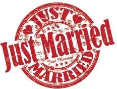 Σφραγίδα  'μόλις παντρευτήκαμε'