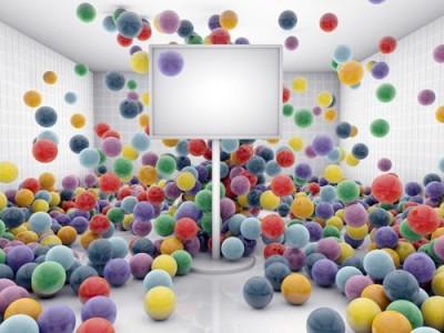 Χρωματιστά μπαλόνια