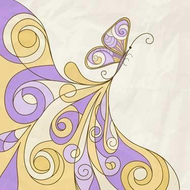 Αφηρημένο μοτίβο πεταλούδας