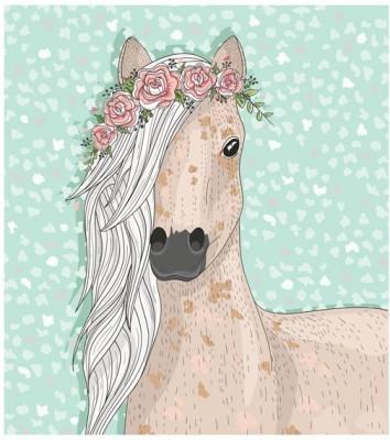 Χαριτωμένο Άλογο, Παιδικά, Ταπετσαρίες Τοίχου