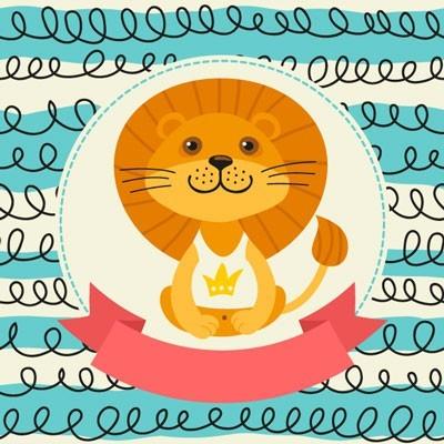 Αξιολάτρευτο Λιοντάρι, Παιδικά, Ταπετσαρίες Τοίχου