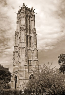 Ο πύργος του Saint Jacques, Παρίσι