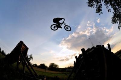 Άλμα ποδηλάτη