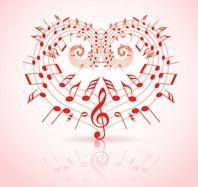 Μουσικό θέμα με καρδίες, Διάφορα, Image Gallery
