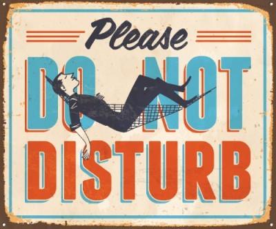 Παρακαλώ μην ενοχλείτε