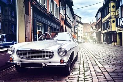 Ρετρό Αυτοκίνητο, Vintage, Ταπετσαρίες Τοίχου