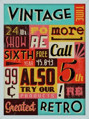Ρετρό εικόνα με φράσεις, Vintage, Image Gallery