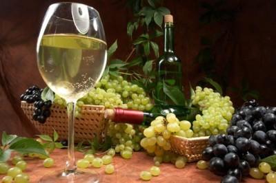 Λευκό ξηρό κρασί