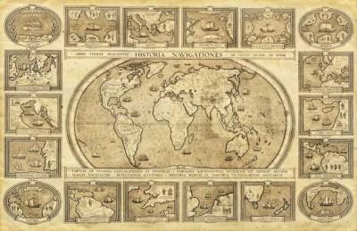 Παλιός παγκόσμιος χάρτης