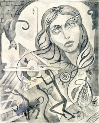 Σουρεαλιστικό πορτρέτο, Ζωγραφική, Image Gallery