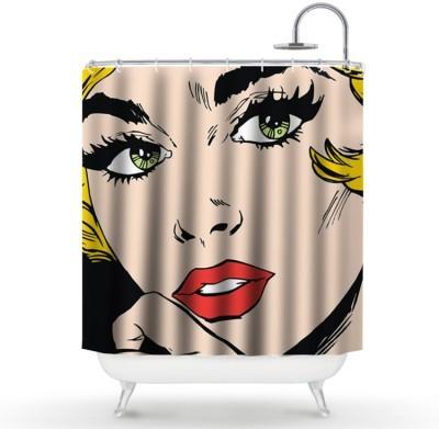 Όμορφη γυναίκα Διάφορα Κουρτίνες μπάνιου 150 x 180 εκ.