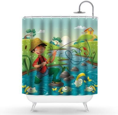 Πινόκιο Παιδικά Κουρτίνες μπάνιου 150 x 180 εκ.