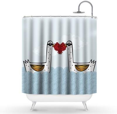 Ερωτευμένοι κύκνοι Παιδικά Κουρτίνες μπάνιου 150 x 180 εκ.