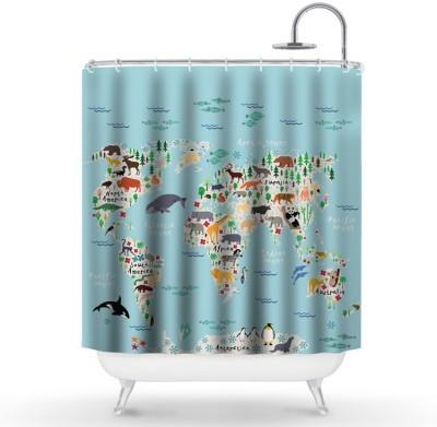 Παιδικός χάρτης Παιδικά Κουρτίνες μπάνιου 150 x 180 εκ.