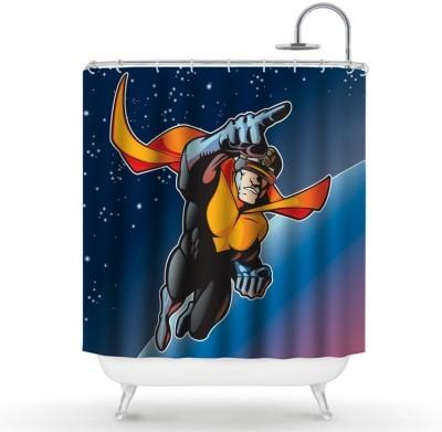 Σούπερ Ήρωας Παιδικά Κουρτίνες μπάνιου 150 x 180 εκ.