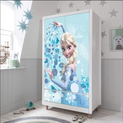 Elsa is the best, Frozen, Παιδικά, Αυτοκόλλητα ντουλάπας