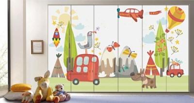 Εκδρομή στην φύση, Παιδικά, Αυτοκόλλητα ντουλάπας