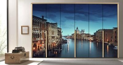 Μεγάλο Κανάλι της Βενετίας, Ιταλία, Πόλεις - Ταξίδια, Αυτοκόλλητα ντουλάπας