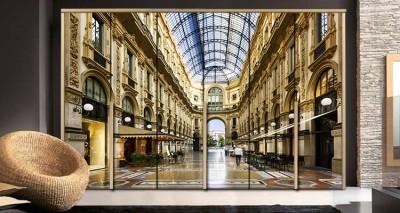 Γκαλερία Βιτόριο Εμανουέλε, Mιλάνο, Πόλεις - Ταξίδια, Αυτοκόλλητα ντουλάπας
