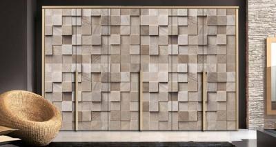 Στοίβα από ξυλεία, Φόντο - Τοίχοι, Αυτοκόλλητα ντουλάπας