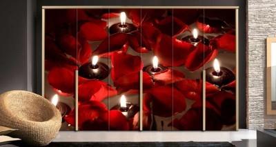 Κεριά και τριαντάφυλλα, Διάφορα, Αυτοκόλλητα ντουλάπας