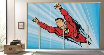 Σούπερ Ήρωας, Κόμικς, Αυτοκόλλητα ντουλάπας