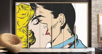 Φιλί, Κόμικς, Αυτοκόλλητα ντουλάπας