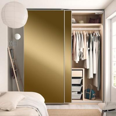 Gold, Μονόχρωμα, Αυτοκόλλητα ντουλάπας