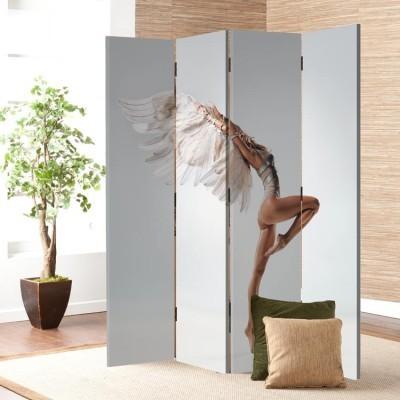 Αισθησιακή χορέυτρια, Άνθρωποι, Παραβάν