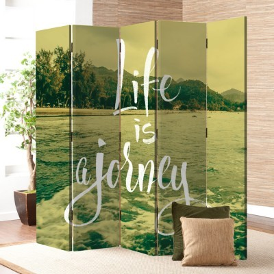 Life is a Journey, Φύση, Παραβάν