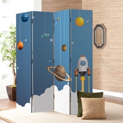 Πλανήτες Παιδικά Παραβάν 80 x 180 εκ. [Δίφυλλο]