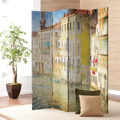 Κανάλι της Βενετίας, Ιταλία, Πόλεις, Παραβάν