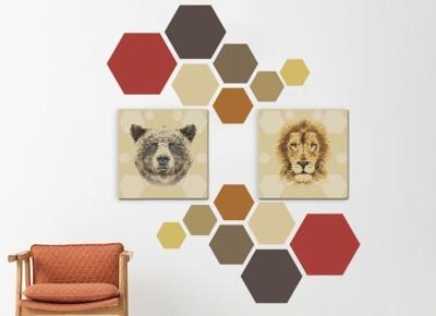 Ζώα, Διάφορα, Πίνακες και αυτοκόλλητα