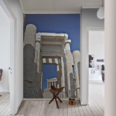 Μνημείο στην Ακρόπολη Ελλάδα Ταπετσαρίες Τοίχου 100 x 100 εκ.