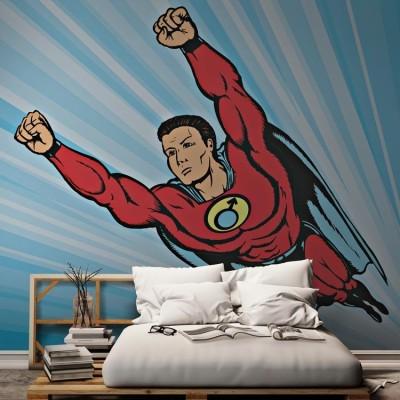 Ήρωας, Κόμικς, Ταπετσαρίες Τοίχου