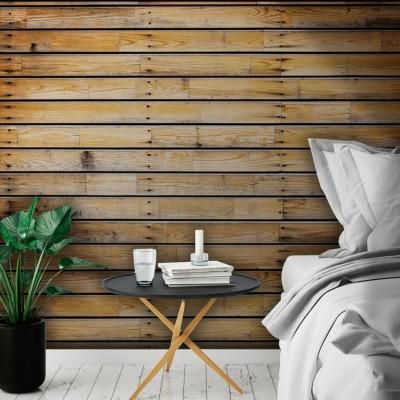 Ξύλινες σανίδες οριζόντιες, Φόντο - Τοίχοι, Ταπετσαρίες Τοίχου