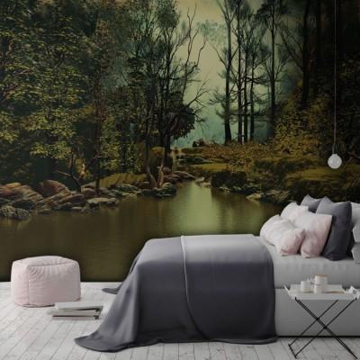 Άγρια Φύση Φύση Ταπετσαρίες Τοίχου 100 x 100 εκ.
