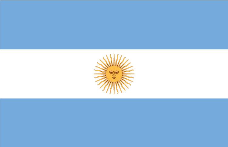 Αποτέλεσμα εικόνας για αργεντινη σημαια